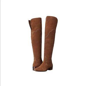 Frye Ray Grommet Knee-High Boots - NWOT